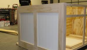 custom built kitchen island u0026 range hood ham lake mn