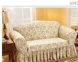 shabby chic slipcovers sofa covers linen couch about blair leather