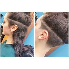 instagram pix of women shaved hair and waves 43 best undercuts images on pinterest hairstyle grey hair and hair