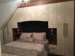 walnut bedroom furniture stunning cream gloss and walnut starplan bedroom furniture in