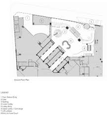 Train Floor Plan by Gallery Of 580 George Street Lobby Upgrade Fjmt 15