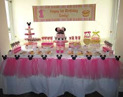 minnie mouse 1st birthday party ideas minnie mouse 1st birthday party decorations margusriga baby party