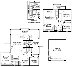Multi Family Home Floor Plans 308 Best House Plans Images On Pinterest House Floor Plans