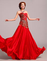 Red Wedding Dresses Romantic Red Wedding Dresses Dresscab