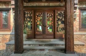 glass panels for front doors rustic front door with pathway u0026 glass panel door zillow digs