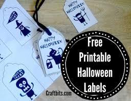 diy halloween printable labels