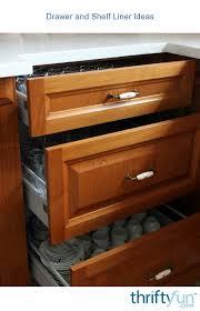 kitchen cabinet lining ideas drawer and shelf liner ideas thriftyfun