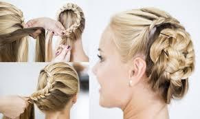 comment cuisiner les chignons tuto coiffure mariage comment réaliser un chignon tressé