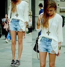 What To Wear With Light Jeans The 25 Best Short Alto Ideas On Pinterest Negro Roupas