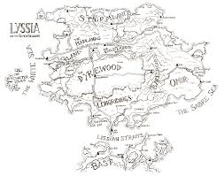 Seven Continents Map Interactive Map Of Lyssia Wereworld Books The Official Puffin