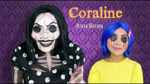 best halloween costumes for family of 4 coraline u0027s other mother makeup tutorial youtube