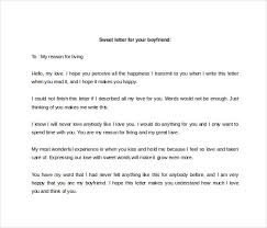 10 love letter to boyfriend free sample example format