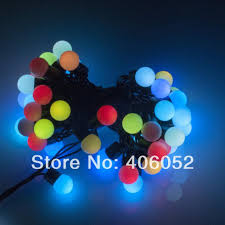 led string light 5m 50led 220v mini globe lighting string hi