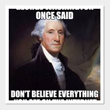 Funny Meme Posters - funny george washington history meme funny george washington
