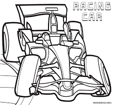 racing car coloring pages coloring pages to download and print