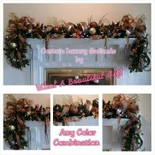 mantel garland swag shipping included luxury