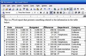 How To Put An Excel Table Into Word How Do I Integrate Excel Information And Objects In Word