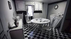 A Kitchen In Black And White Panda S House by George R R Martin Helps Santa Fe U0027s Meow Wolf Paint The City