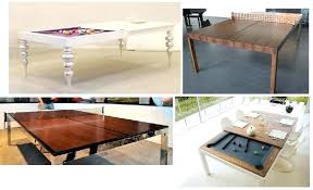 coffee tables that turn into tables turn pool table into dining table a dining table that turns into a