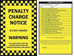 10 x prank parking tickets pack of 10 fake joke prank parking