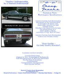 aaron u0027s custom auto restoration