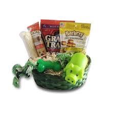 dog gift baskets gift basket treats crewing set