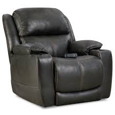 homestretch starship casual home theater recliner with cup holders