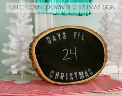 thanksgiving countdown clock crafty texas girls rustic