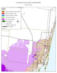 Map Southwest Florida by Sea Level Rise Planning Maps Likelihood Of Shore Protection In