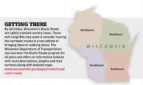 Wisconsin travel pass images Wisconsin 39 s rustic roads essential campgear jpg