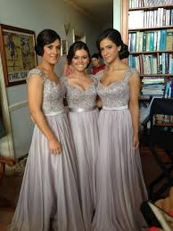 chagne lace bridesmaid dresses i m really liking the grey sparkly bridesmaid dresses at the