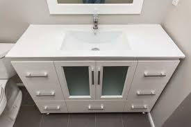 Modern White Bathroom Vanity Mid Century Modern Bathroom Vanity With Sink All Modern Home