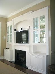interior design tv over fireplace corner ideas wall built ins