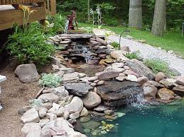 Waterfall For Backyard by 21 Waterfall Ideas To Add Tranquility To Rock Garden Design