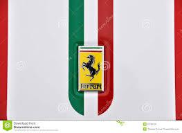 ferrari emblem ferrari logo editorial photo image of modena motor 22791176