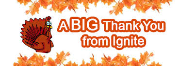 happy thanksgiving from ignite visibility marketing