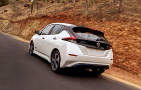 nissan leaf black edition 2018 nissan leaf electric car prototype driven first impressions
