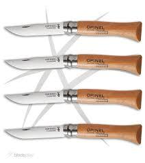 carbon steel kitchen knives for sale opinel knives no 6 7 8 carbon steel folding knife set 12