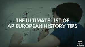 exam paper writing tips the ultimate list of ap european history tips albert io
