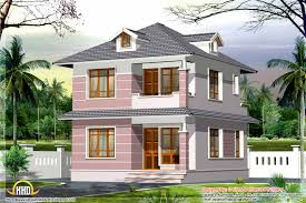 Build Small House by Fascinating Two Storey Small Home Exterior With Grey And Peach