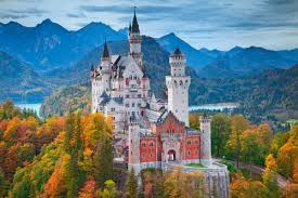 neuschwanstein painting promotion shop for promotional