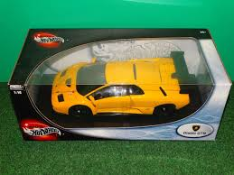 wheels lamborghini diablo wheels lamborghini diablo gtr diecast car yellow 1 18 ebay