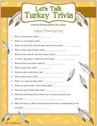 thanksgiving trivia questions answers facts times