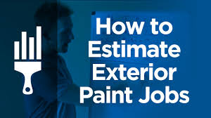 how to bid or estimate exterior painting jobs