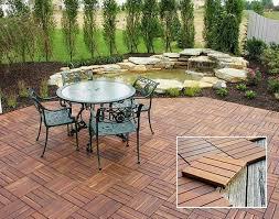 Backyard Flooring Options by Triyae Com U003d Ideas For Outdoor Patio Flooring Various Design