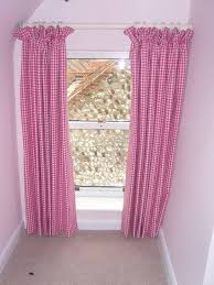 Pink Gingham Curtains Pink Gingham Curtain Angelinas Curtains And Blinds Heacham
