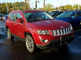 jeep compass limited red red jeep compass for sale in houston tx carmax