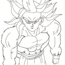 dbz coloring pages lezardufeu com