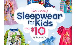 disney store sleepware sale boys pajamas for 10