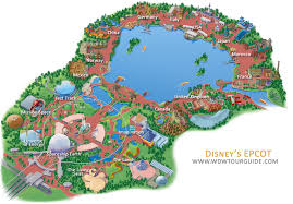 Disney World Resort Map Map Of Epcot World Showcase Map Of Epcot Map Of Epcot World